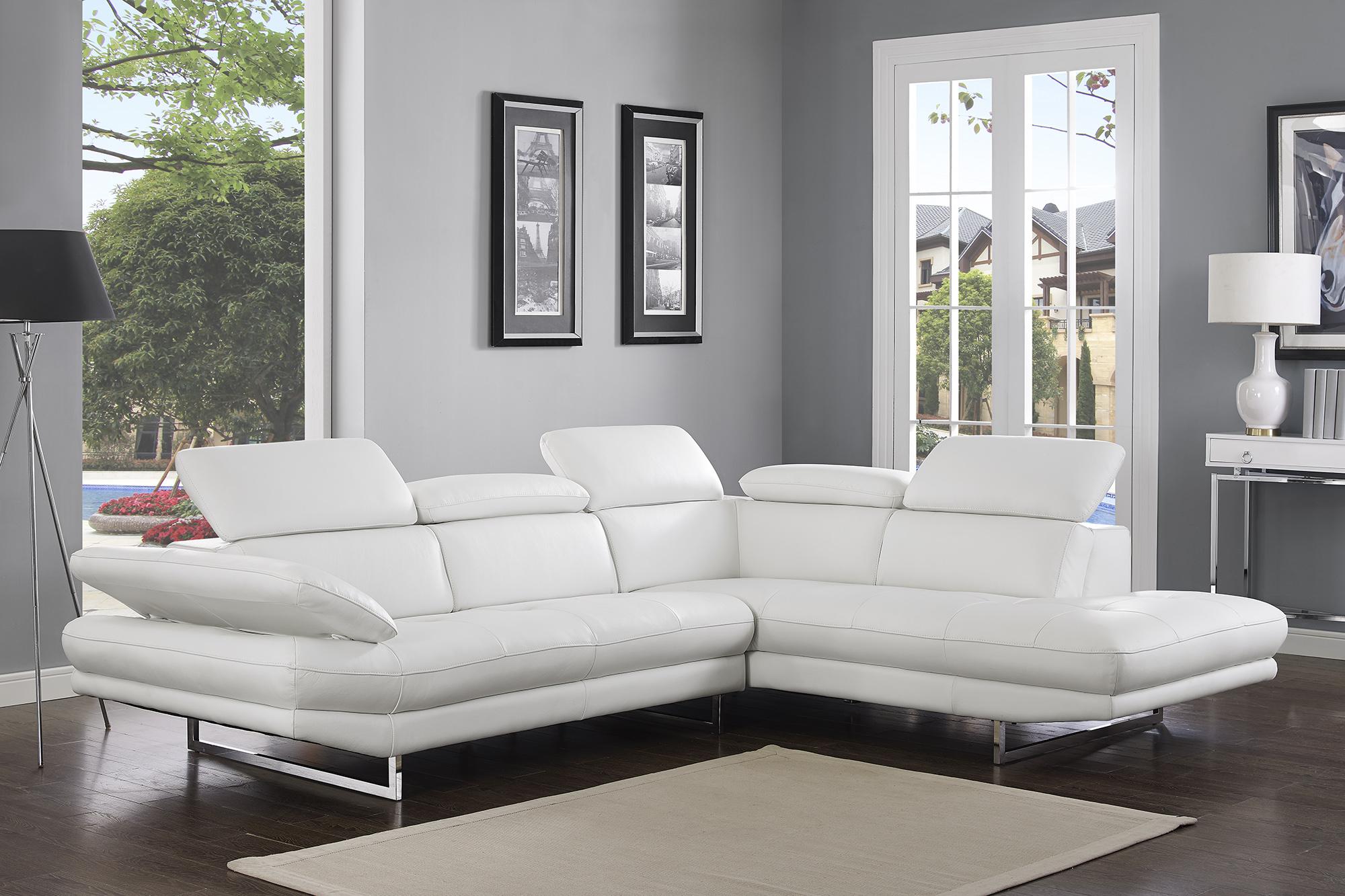 Adjustable Advanced Tufted Corner Sectional L-shape Sofa