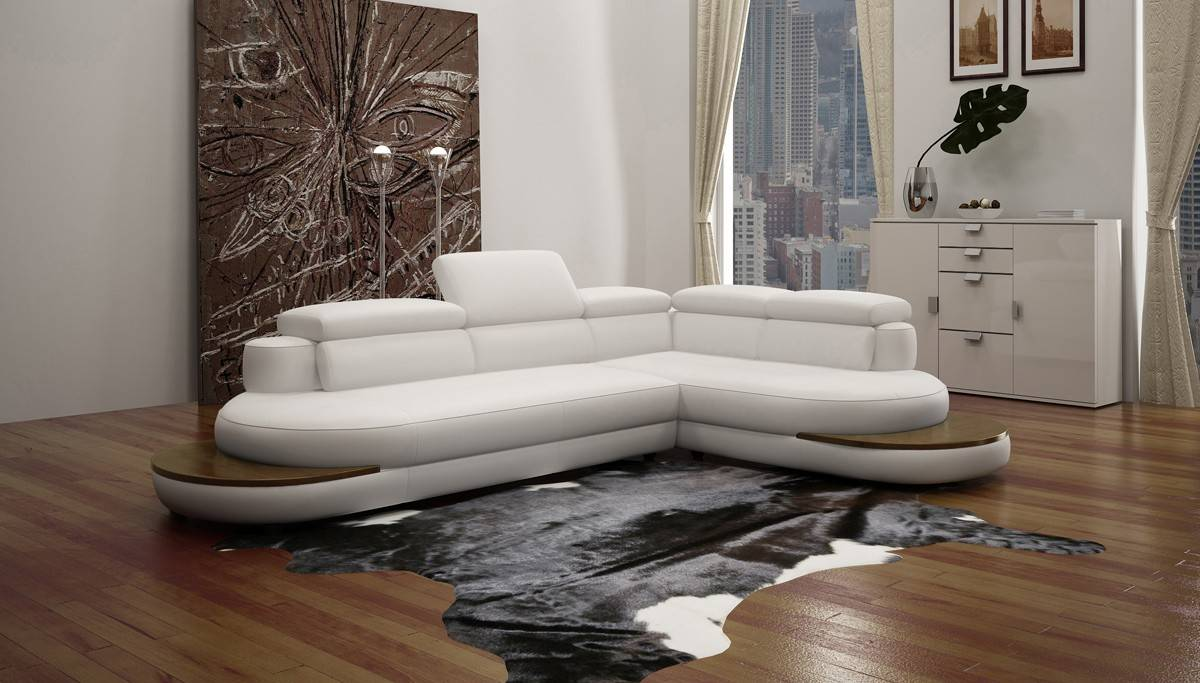 Exclusive 100 Italian Leather Sectional Simi Valley