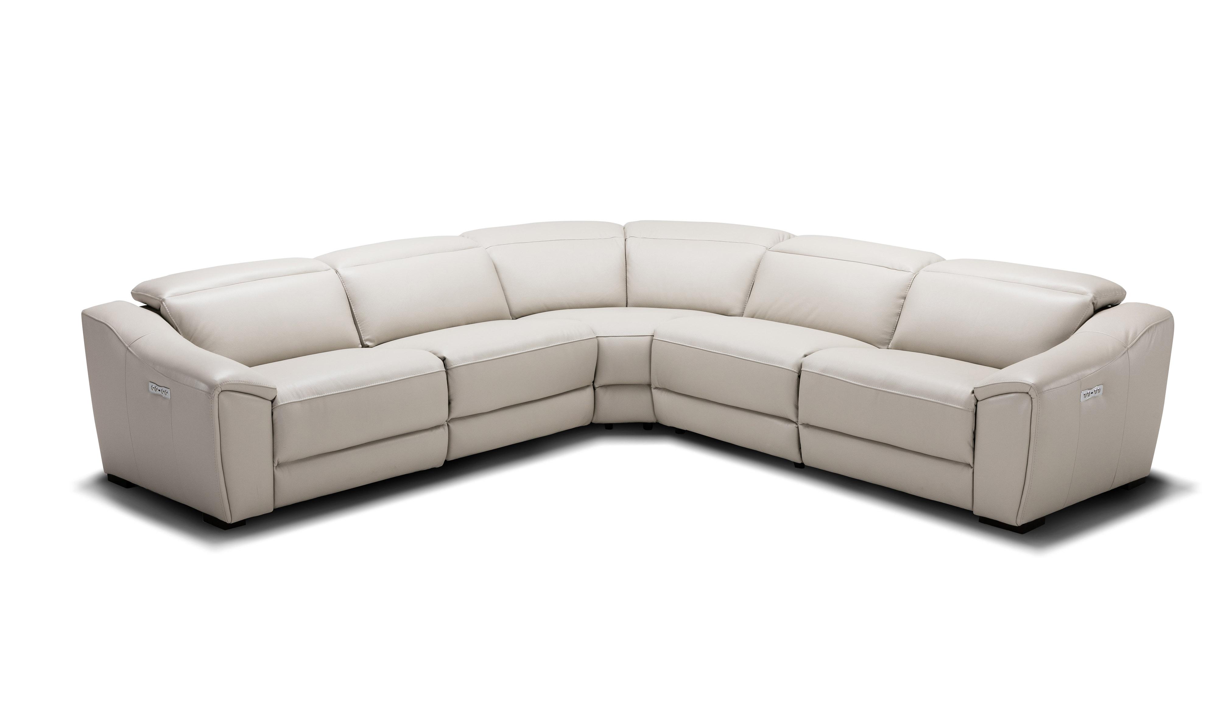 Advanced Adjustable Full Leather Corner Couch Sacramento