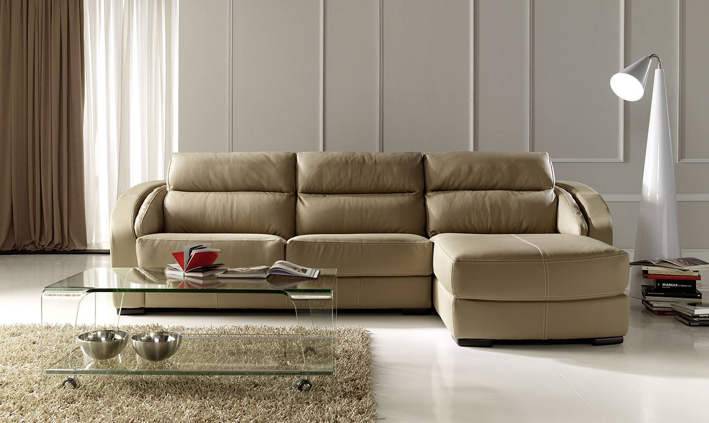 small apartment size sectional sofa nectar
