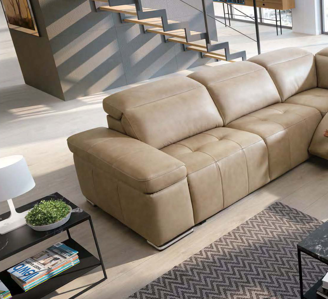 Fashionable Full Leather Corner Couch San Antonio Texas