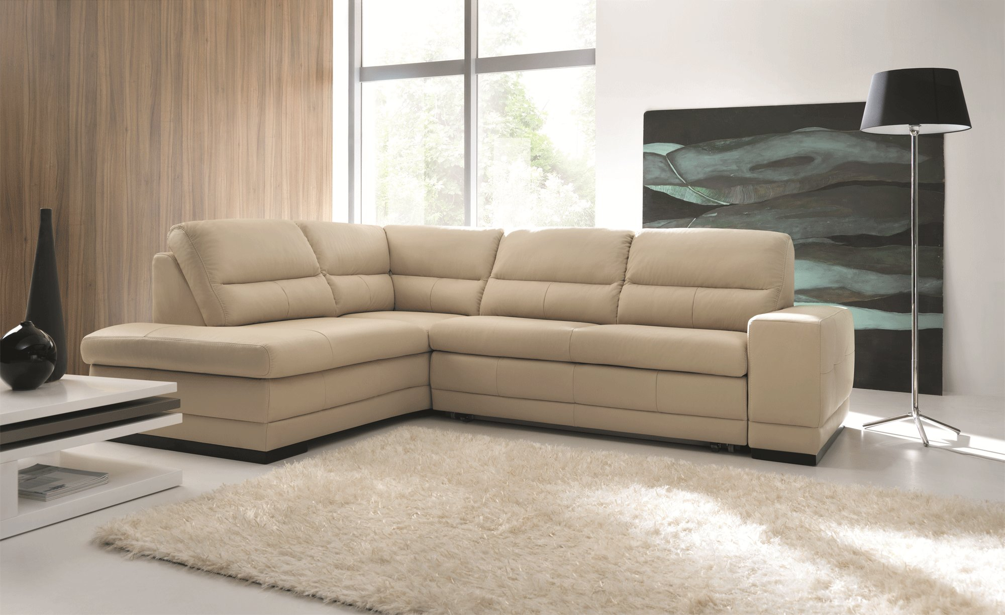 Luxurious Italian Leather Living Room Furniture