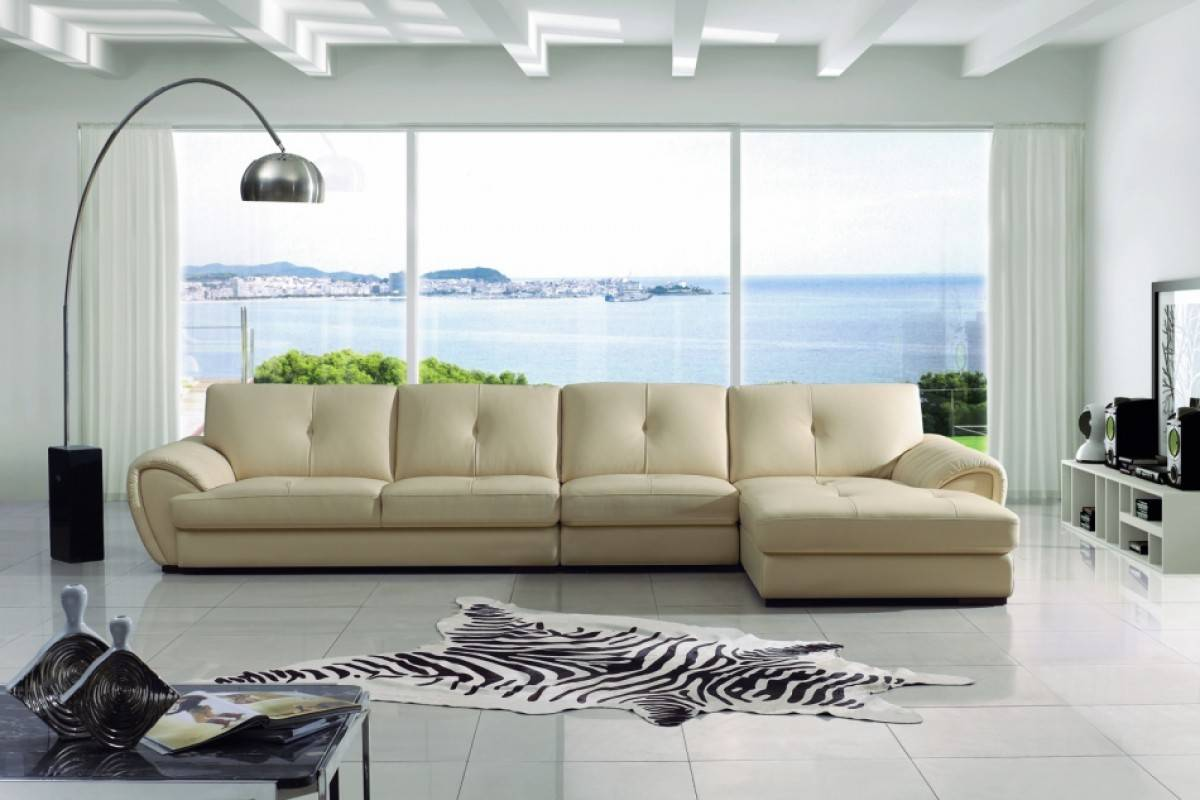 Three Piece Sectional Sofa with Low Armrests Phoenix Arizona V-3992