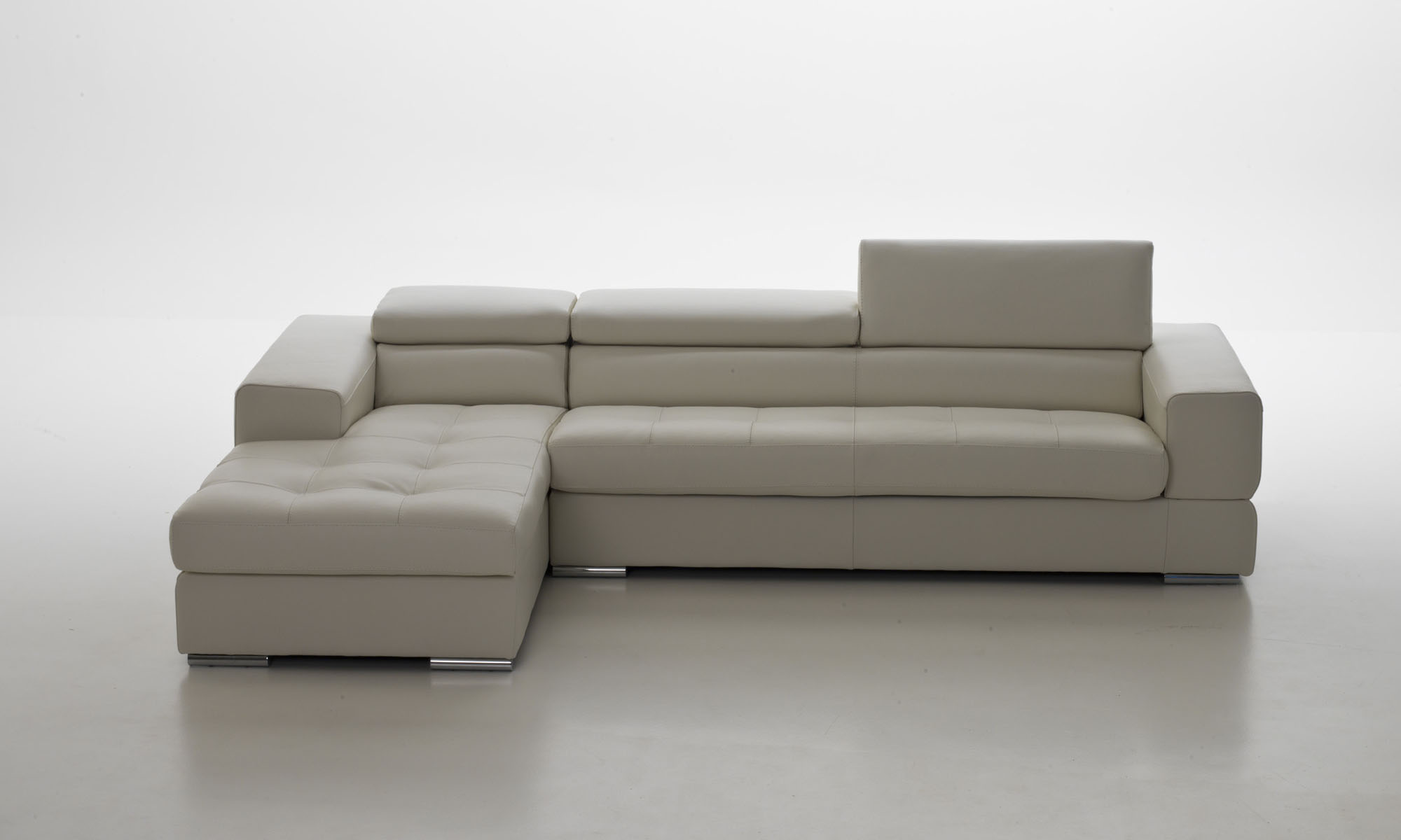 Overnice Sectional Upholstered in Real Leather Flint Michigan