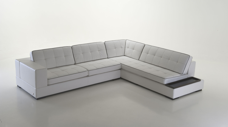 Luxury Leather Corner Sectional Sofa