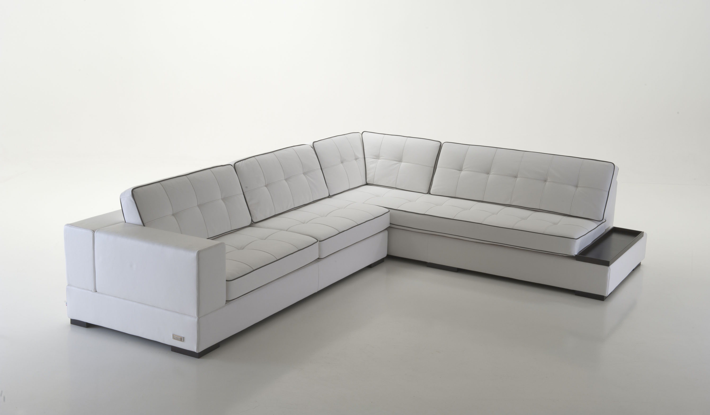 Luxury Leather Corner Sectional Sofa