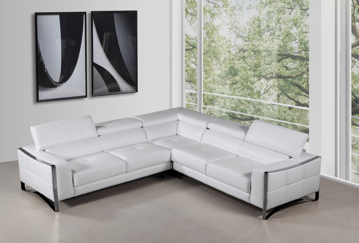 Advanced Adjustable Modern Genuine Italian Sectional
