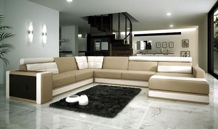 Refined bonded leather sectional with chaise las vegas for Bonded leather chaise