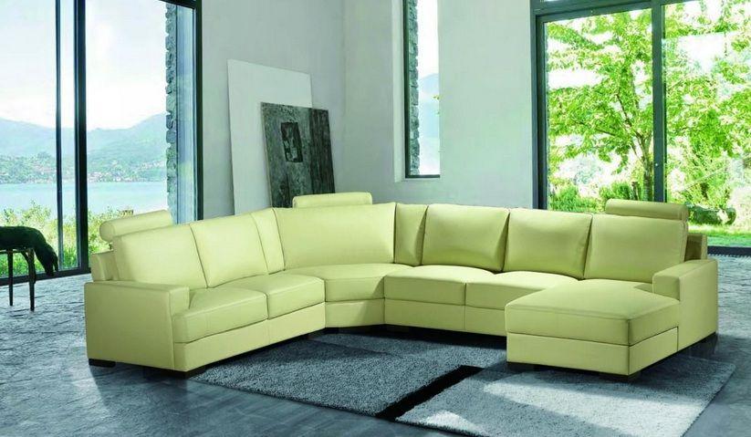 Elegant Corner Sectional L-shape Sofa