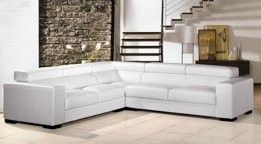 Adjustable advanced discounted leather sectional couch for Sectional sofas kansas city mo