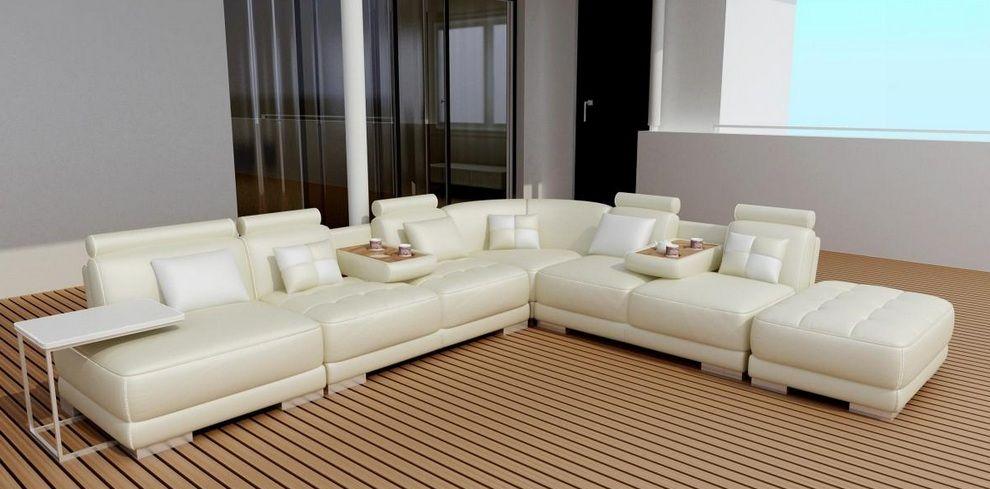 high end bonded leather sectional sofa new orleans louisiana v5004. Black Bedroom Furniture Sets. Home Design Ideas