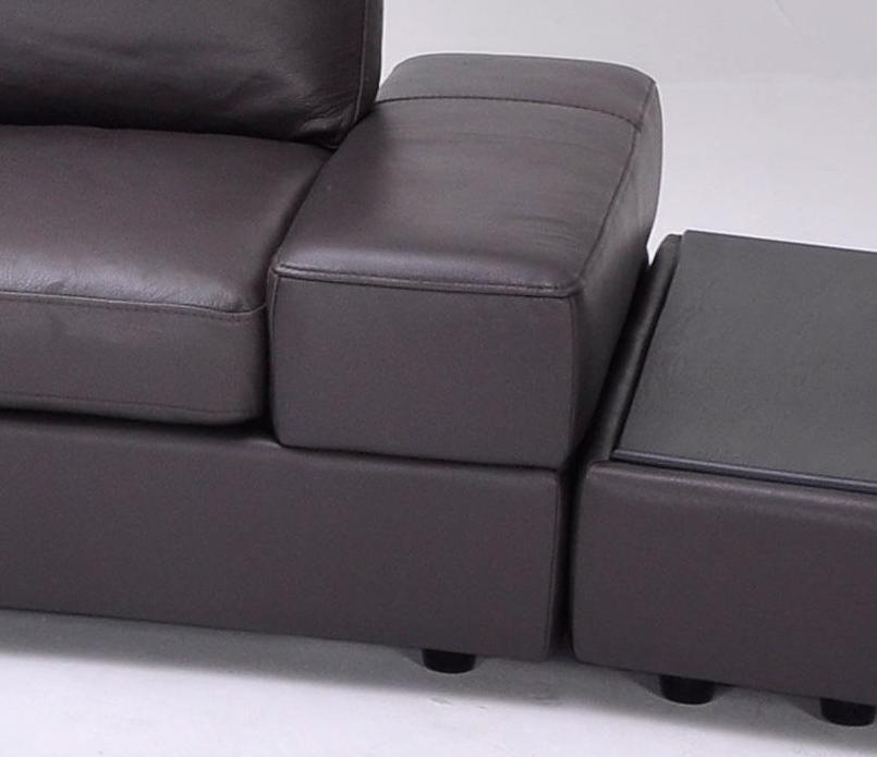 Overnice Curved Sectional Sofa In Leather Virginia Beach Virginia Vk1295b