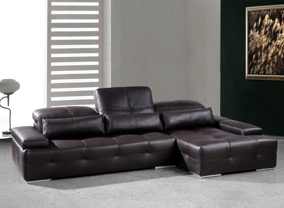 Adjustable Advanced Tufted Designer Half Leather Sectional