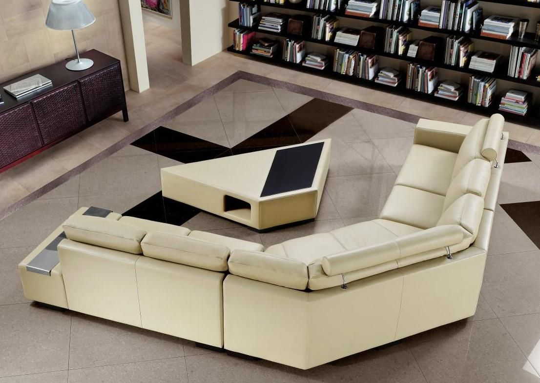 Advanced Adjustable Corner Sectional Lshape Sofa New Orleans - Coffee table for l shaped sofa