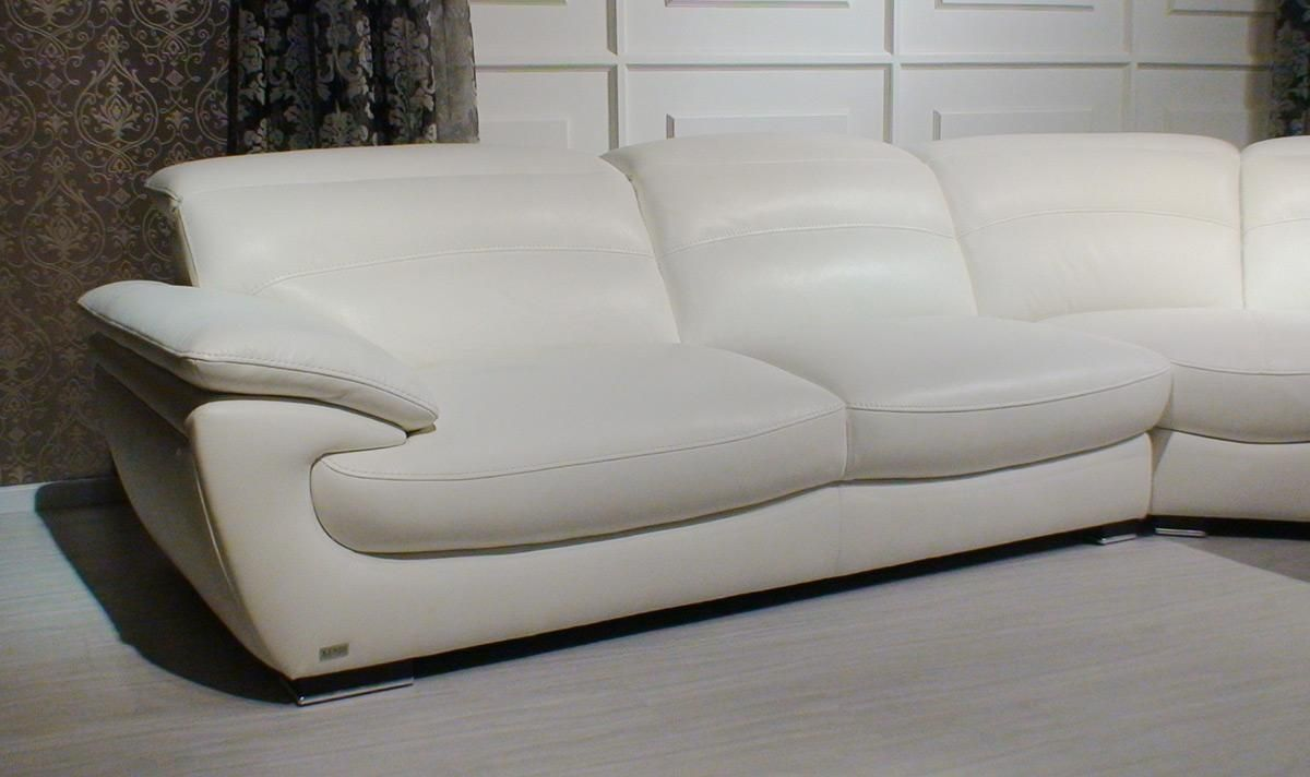 how to clean pure white leather sofa