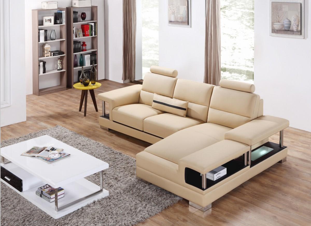 Enjoyable Adjustable Advanced Leather Corner Sectional Sofa Evergreenethics Interior Chair Design Evergreenethicsorg