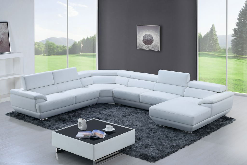 Exquisite Modern Genuine Italian Sectional