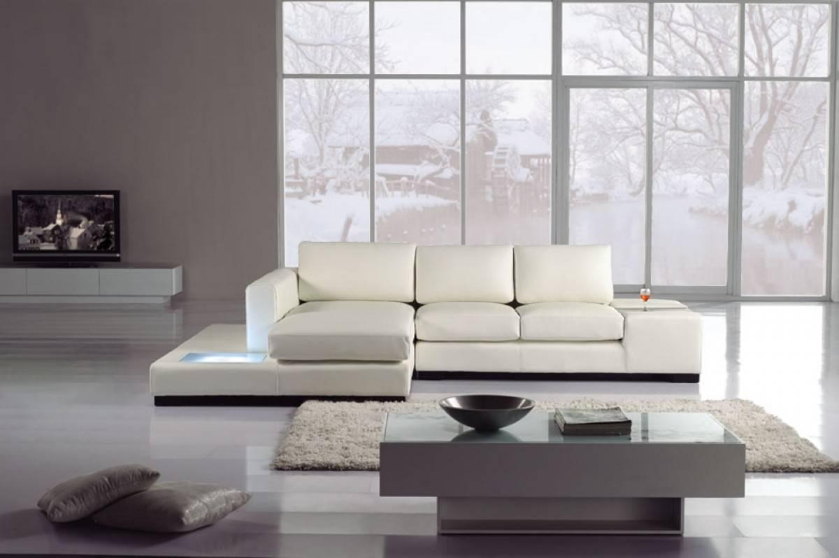 White Leather Corner Units: High End Leather Corner Sectional Sofa Hampton Virginia V