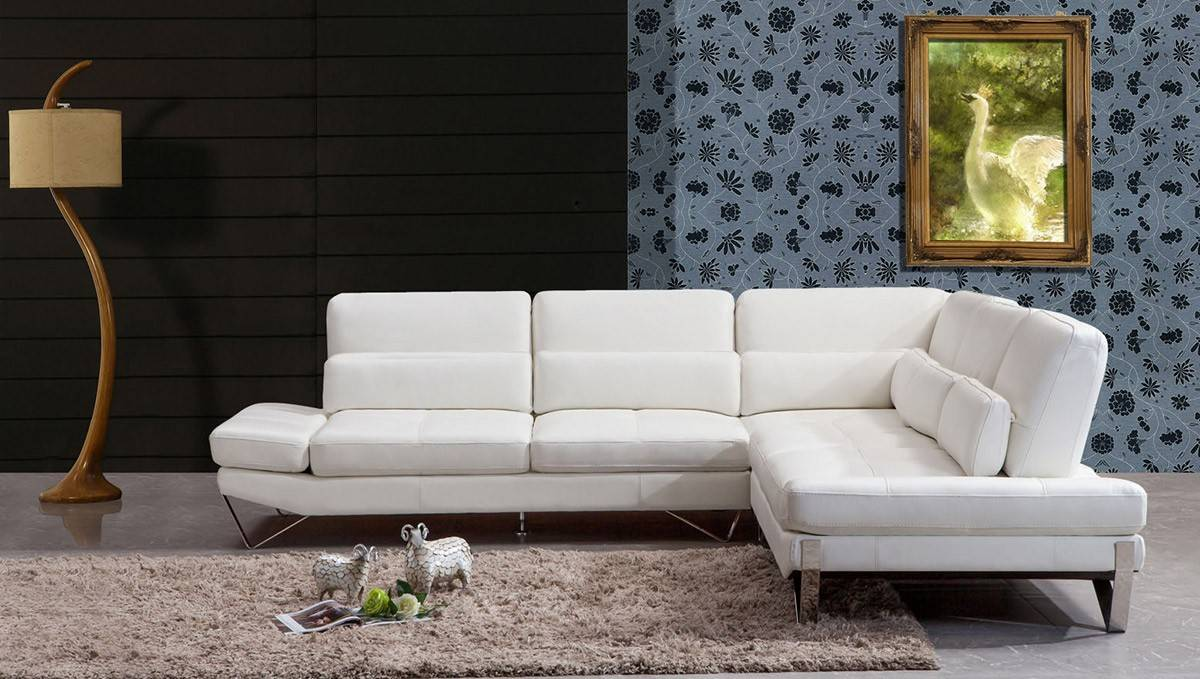 Incredible Elegant Top Grain Leather Sectional Bralicious Painted Fabric Chair Ideas Braliciousco