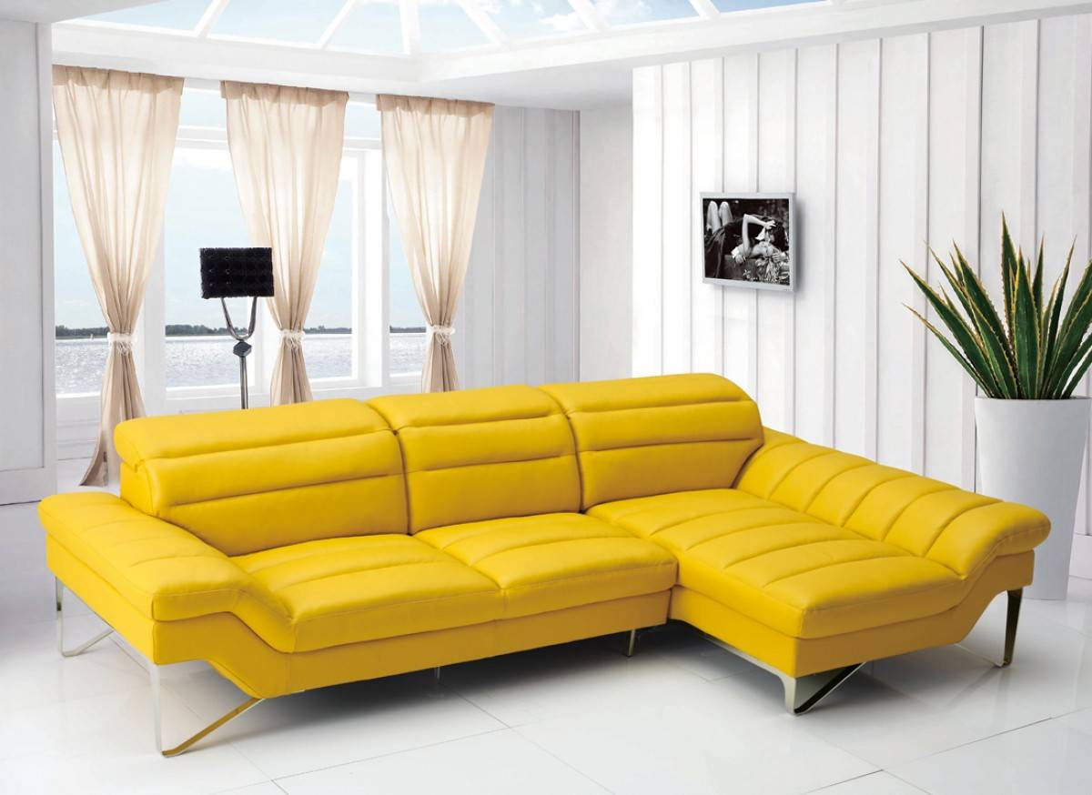 Advanced Adjustable Furniture Italian Leather Upholstery