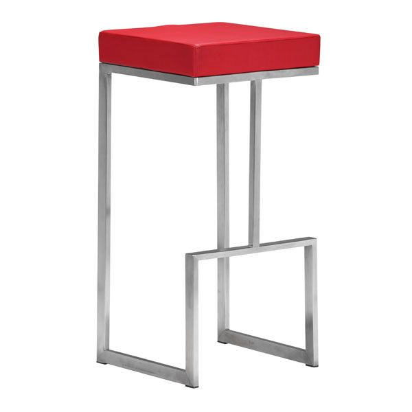 Prime Stylish Square Counter Stool With Stainless Steel Frame Gmtry Best Dining Table And Chair Ideas Images Gmtryco