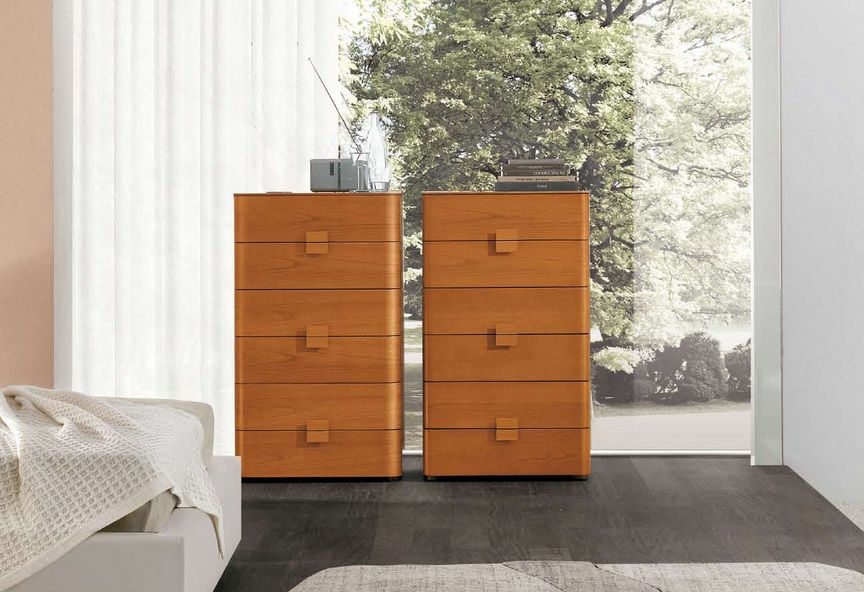 Italian Contemporary Six Drawer Chest Prime Classic Design Modern Italian And Luxury Furniture