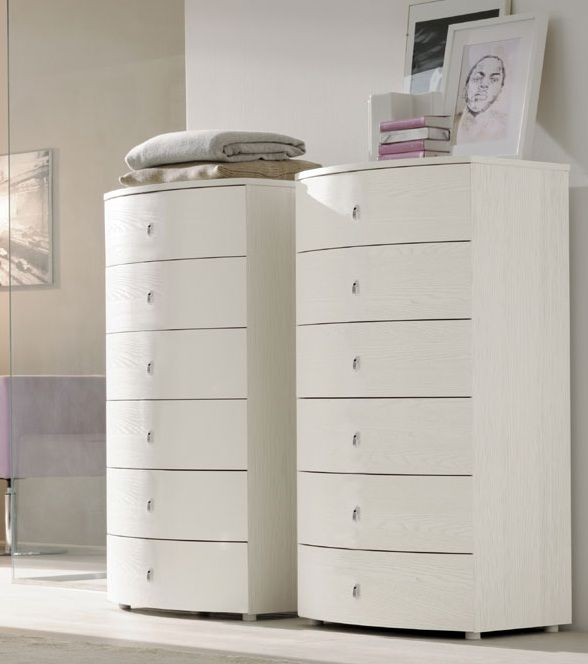 Stylish Italian Six Drawer Chest Prime Classic Design Modern Italian And Luxury Furniture