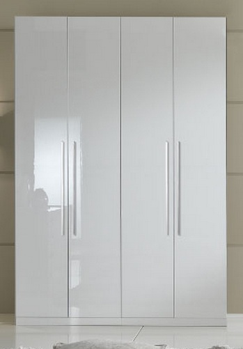 Momo Italian Contemporary 4 Door Wardrobe Prime Classic