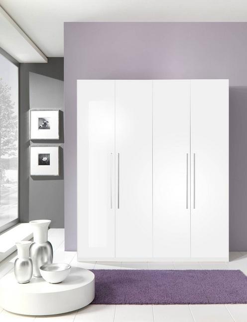 Momo Italian Contemporary 4 Door Wardrobe Prime Classic Design