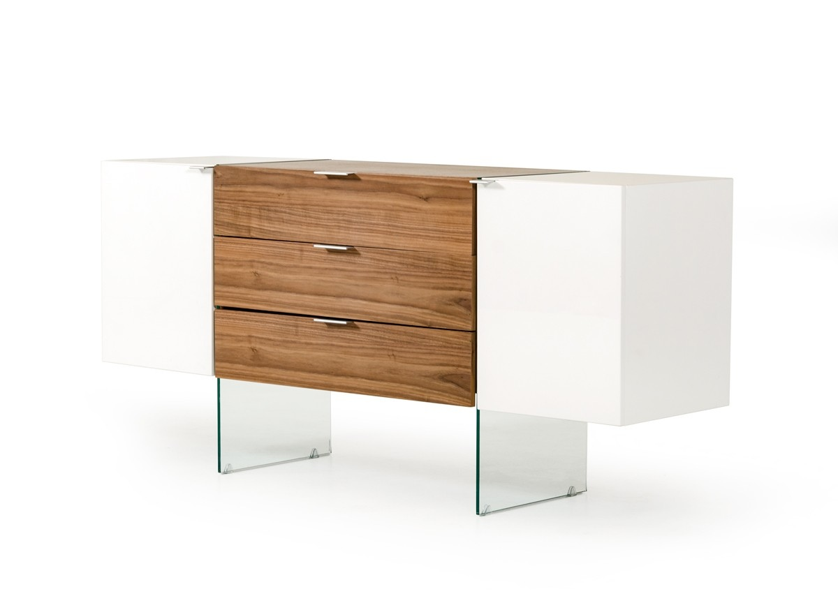 Contemporary Buffet Cabinet For Dinette Table Set Phoenix