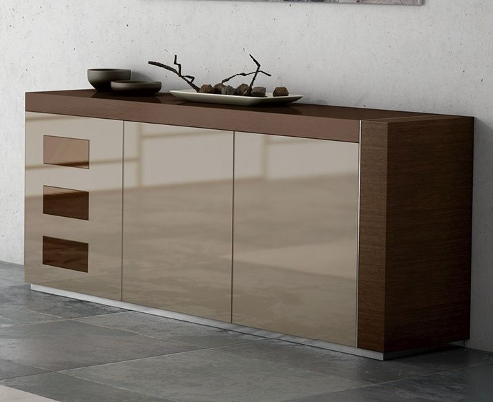 Made In Spain Contemporary Lacquered Dining Room Buffet Las Vegas Nevada Esfirenelacquered