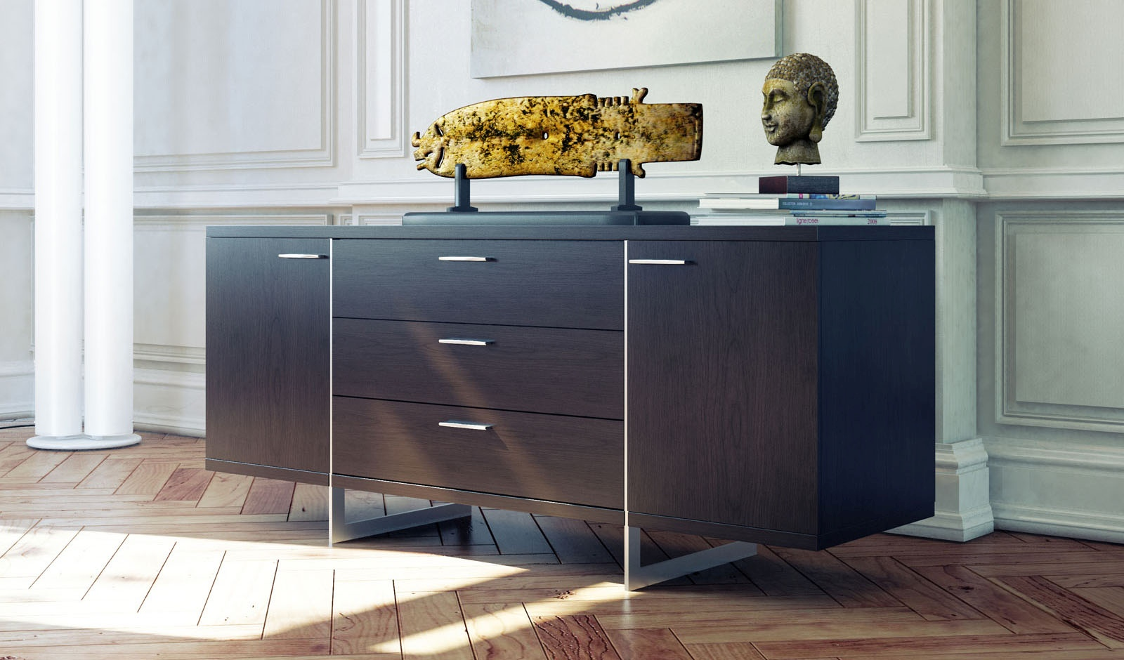 Modern and Italian Buffets Stylish Accessories Contemporary