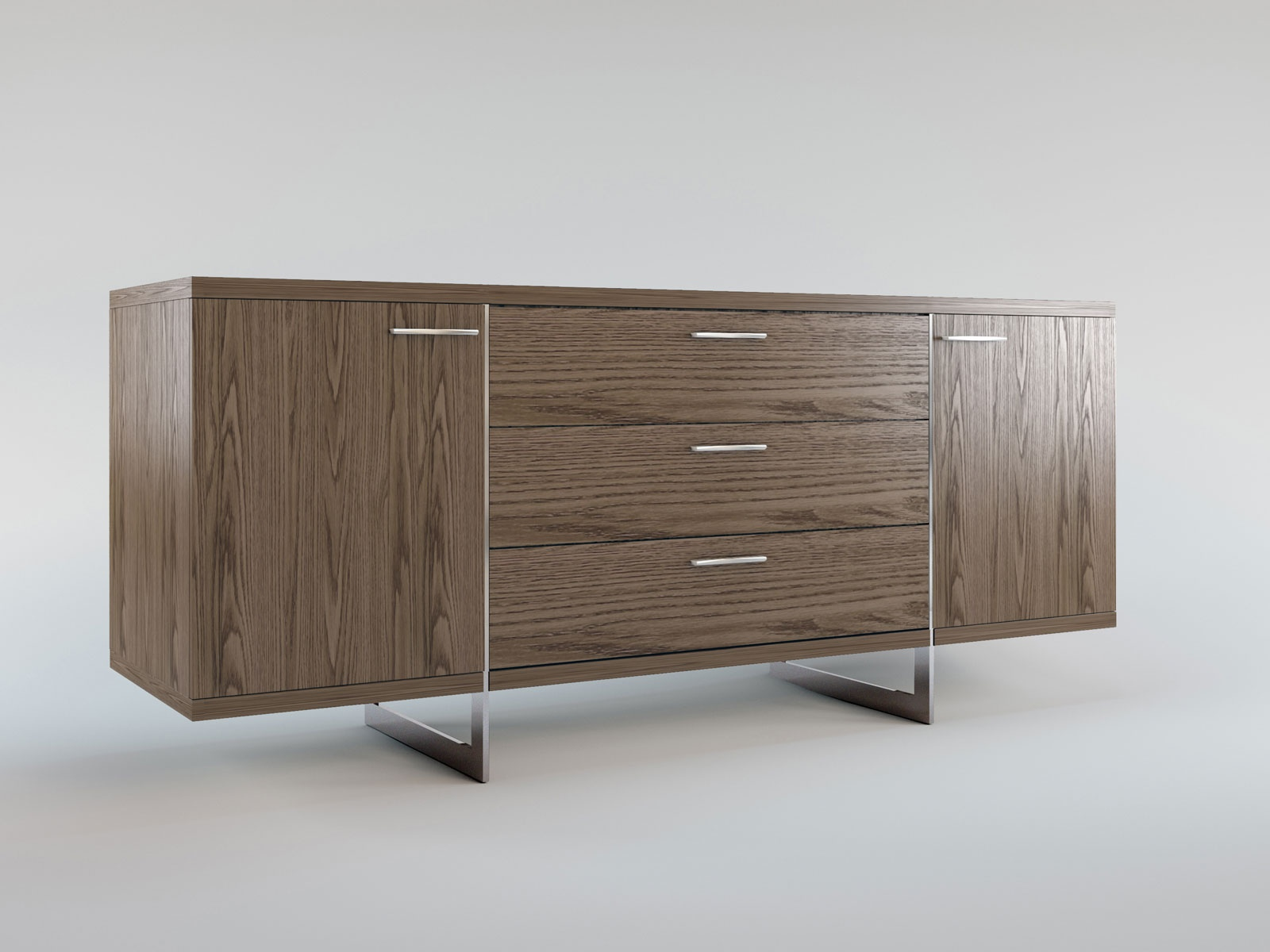 contemporary sideboard buffet with three storage drawers tulsa  - contemporary sideboard buffet with three storage drawers tulsa oklahomamlgre