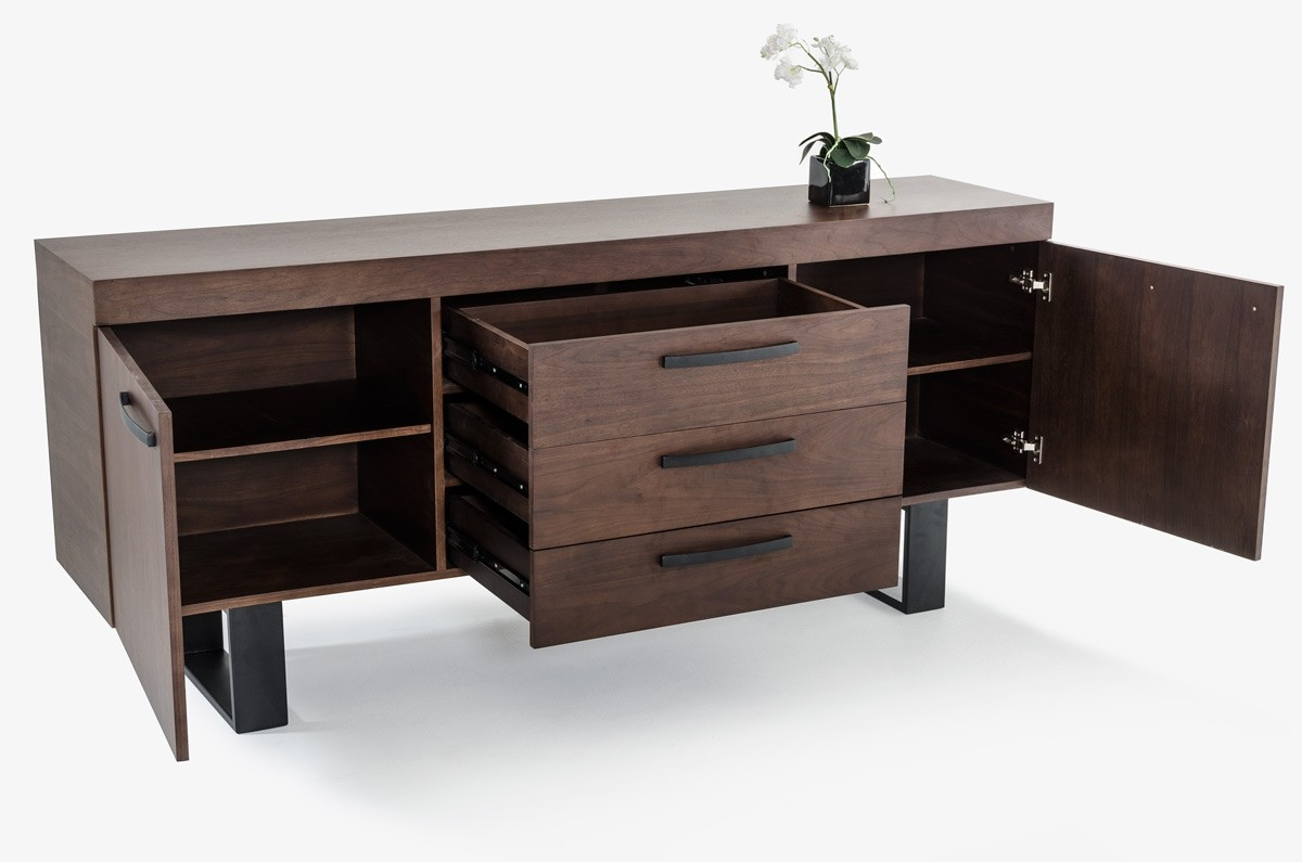 Black Kitchen Buffets And Sideboards ~ Black metal legs kitchen sideboard cabinet columbus ohio