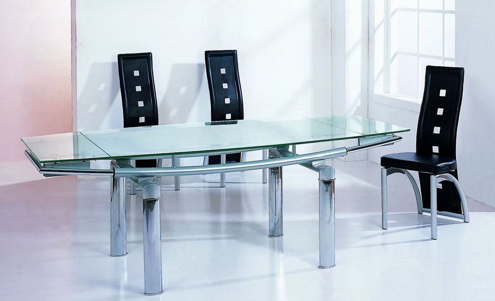 high end glass top furniture dining set pittsburgh