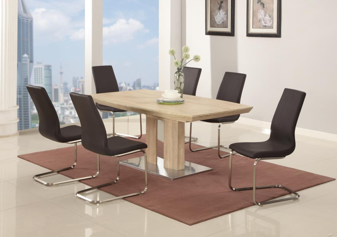 extendable furniture dining set with leaf san francisco california chzoe