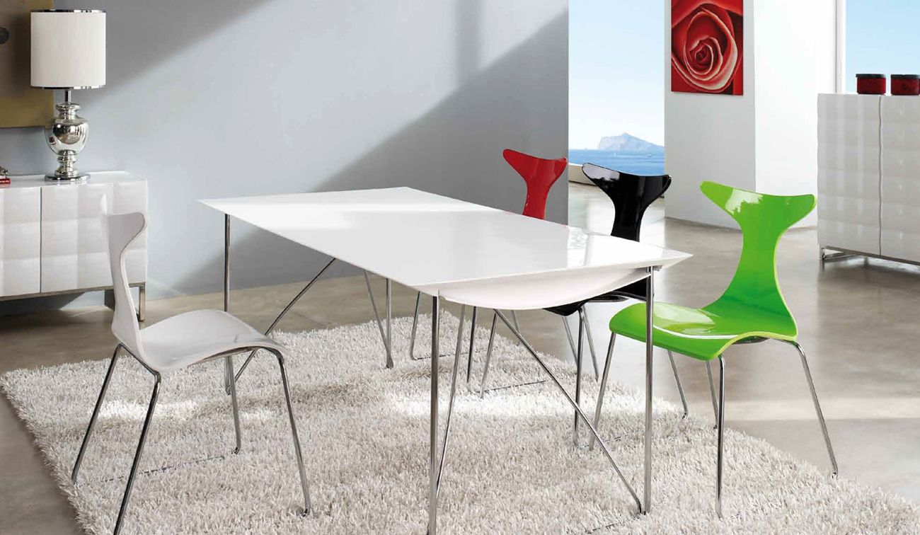 made in spain rectangular in wood dining room furniture