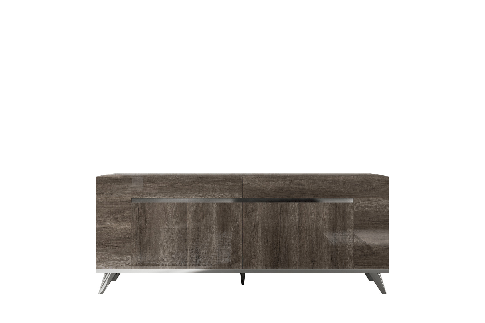 Exotic Rectangular in Wood Top Leather Dining Room Furniture - Click Image to Close
