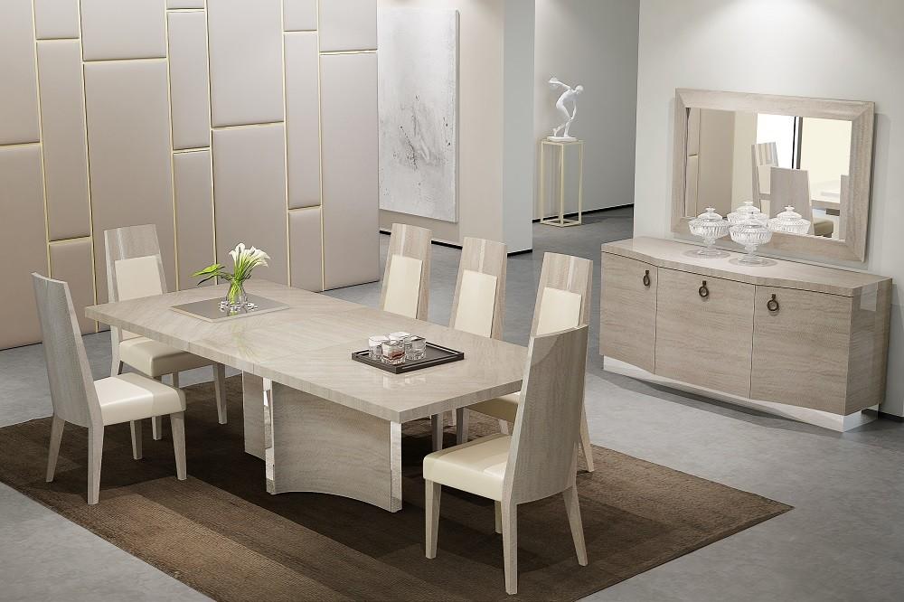 X-Shaped Contemporary Rectangular Dining Room Set SARATOGA ...