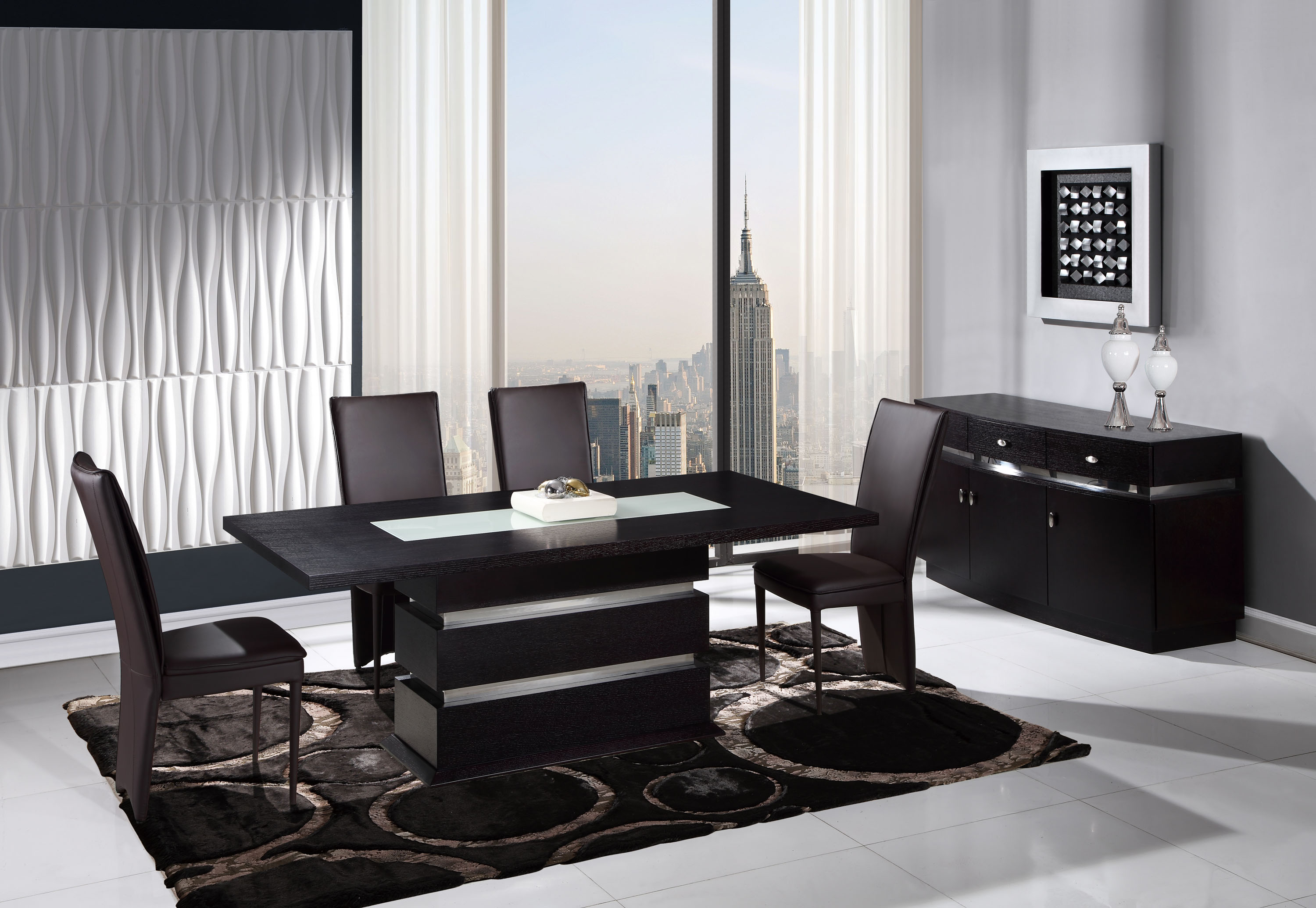 Dining Sets With Chairs Contemporary Rectangular