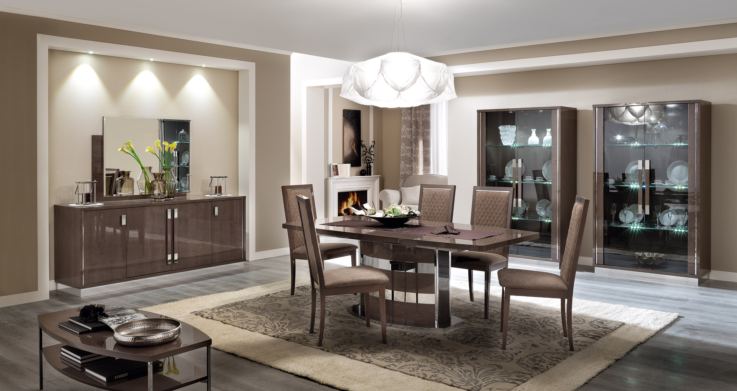the modern dining room nyc   Unique Rectangular in Wood Modern Dining Set New York New ...