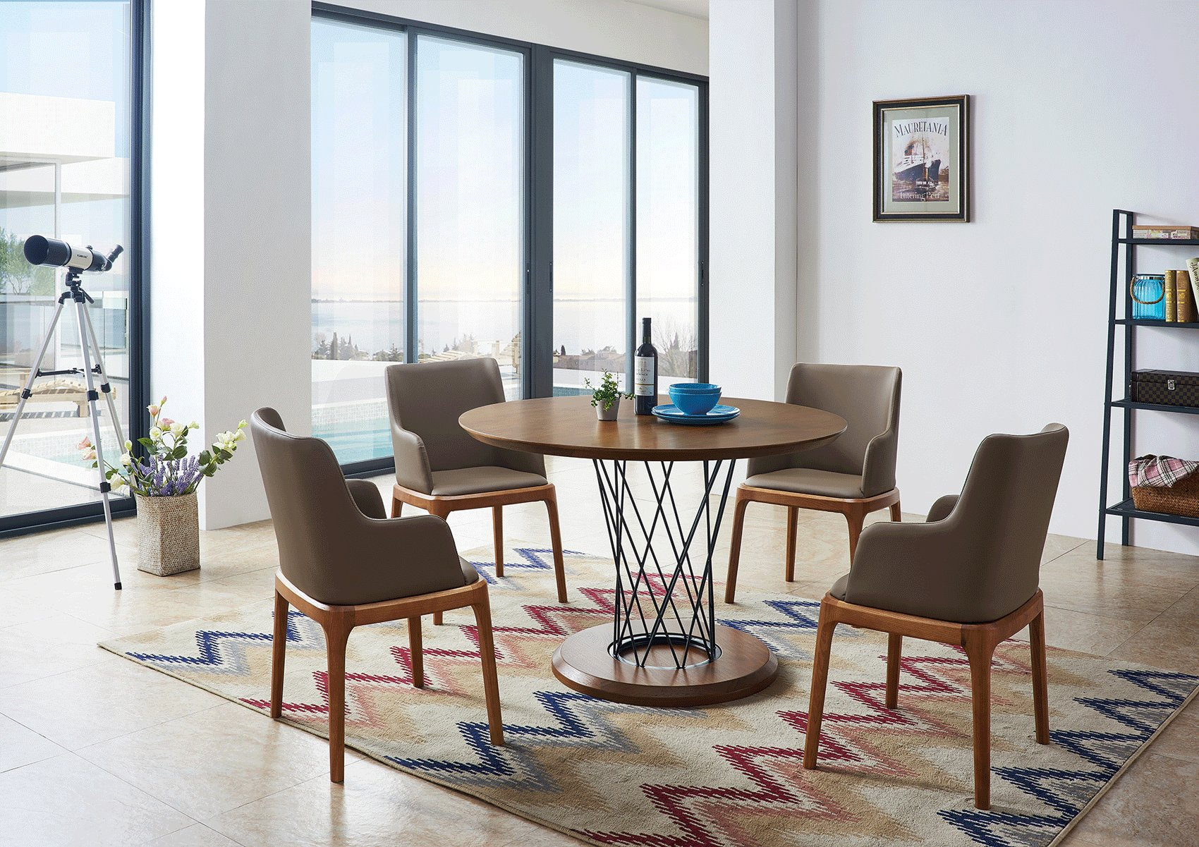 Dining sets with chairs contemporary