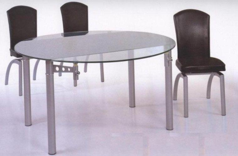 12 Mm Tempered Round Glass Expandable Table Tacoma Washington BHDT001
