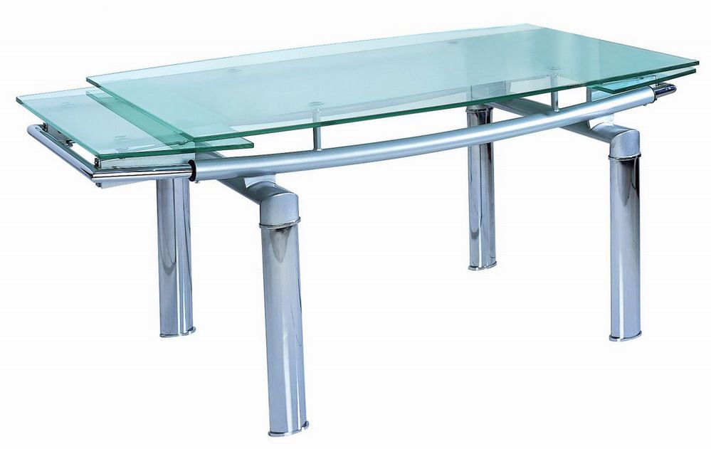 12 Mm Tempered Glass Expandable Table Des Moines Iowa BHDT833