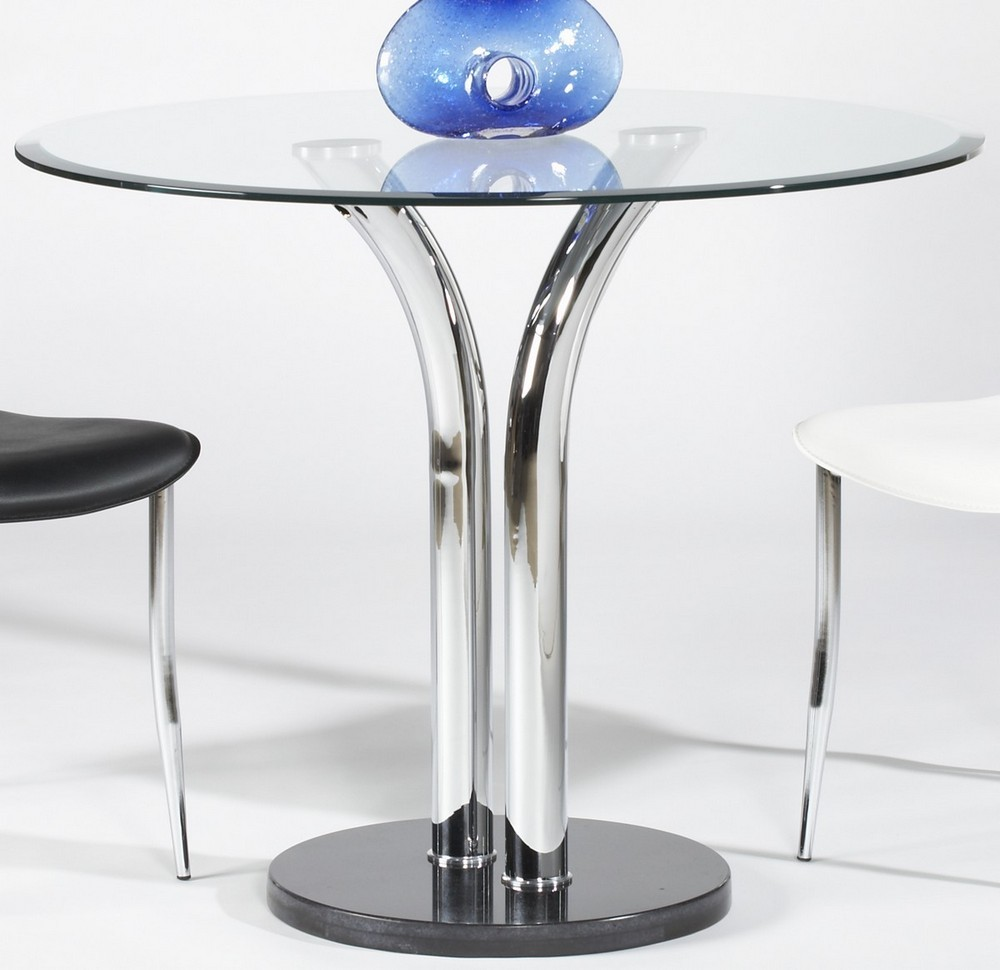 Glass Pub Table Part - 31: Modern Dining Tables, Dinette Furniture