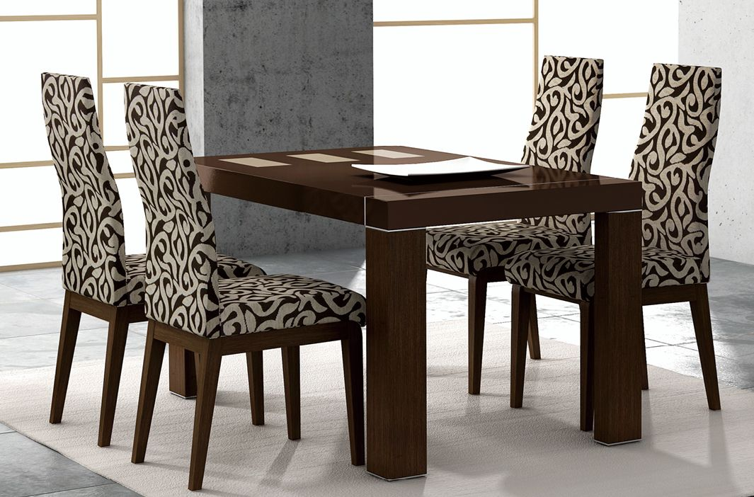 Irene Contemporary Lacquered Dining Room Table Lansing Michigan