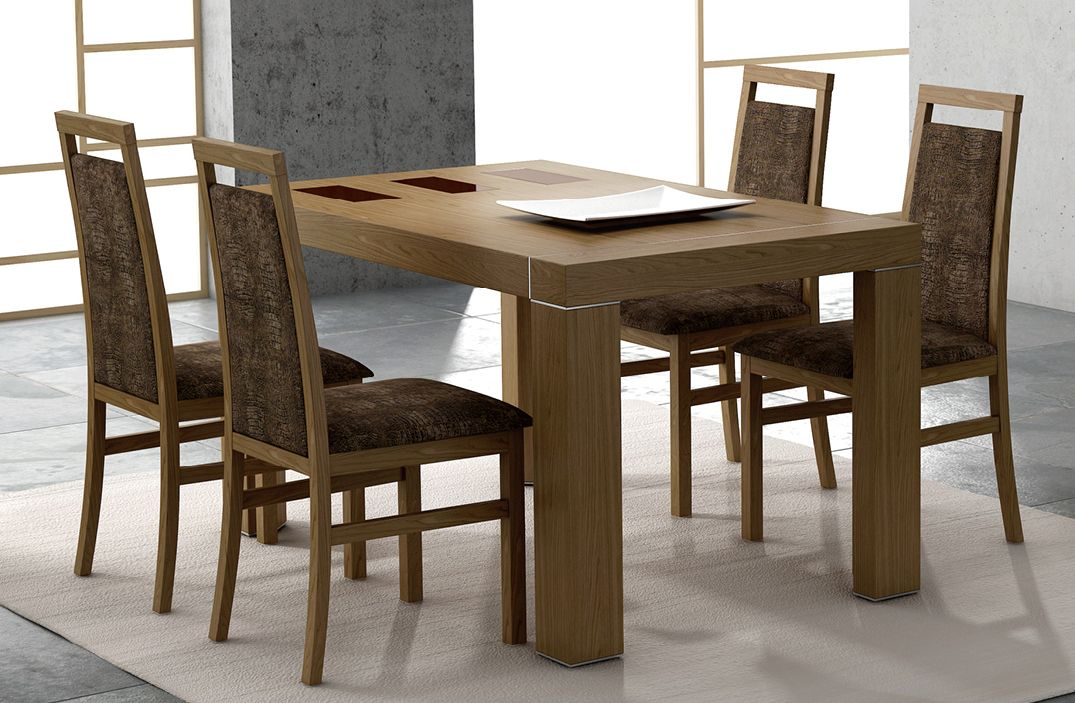 made in spain contemporary walnut dining room table cape