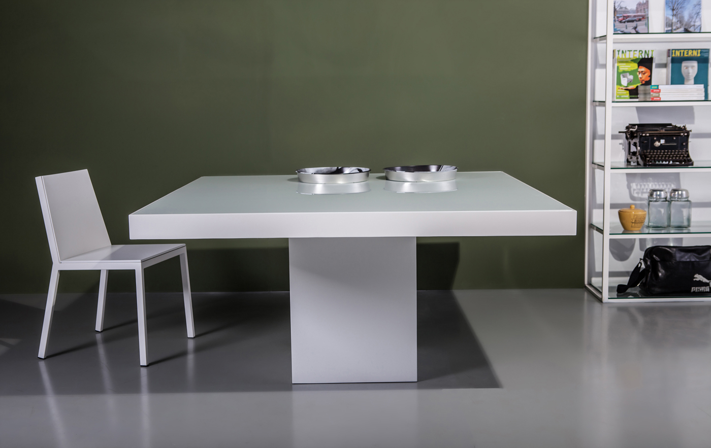 Modern Style Table Only High Gloss Lacquer Measurements Table 59w X