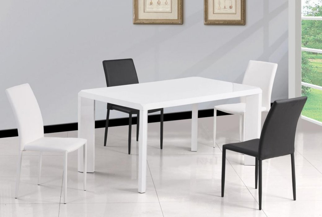 Simple White Dining Table Miami Florida Chfio