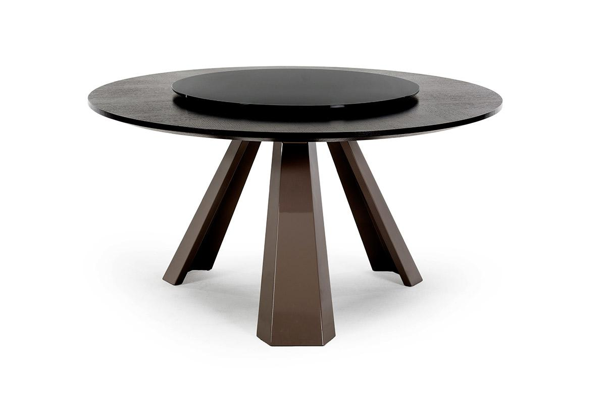 Contemporary round dining table for Circular dining table